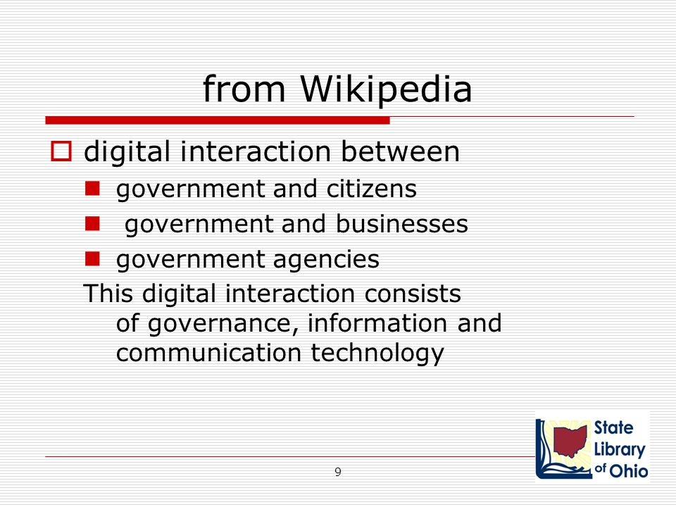 from Wikipedia digital interaction between government and citizens