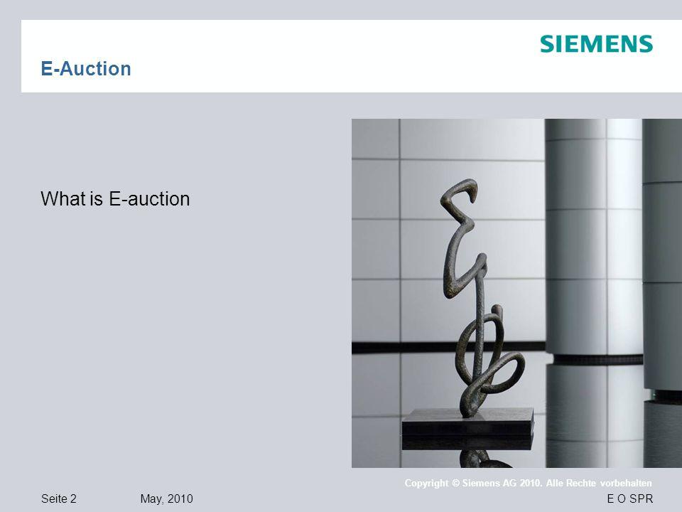 E-Auction What is E-auction