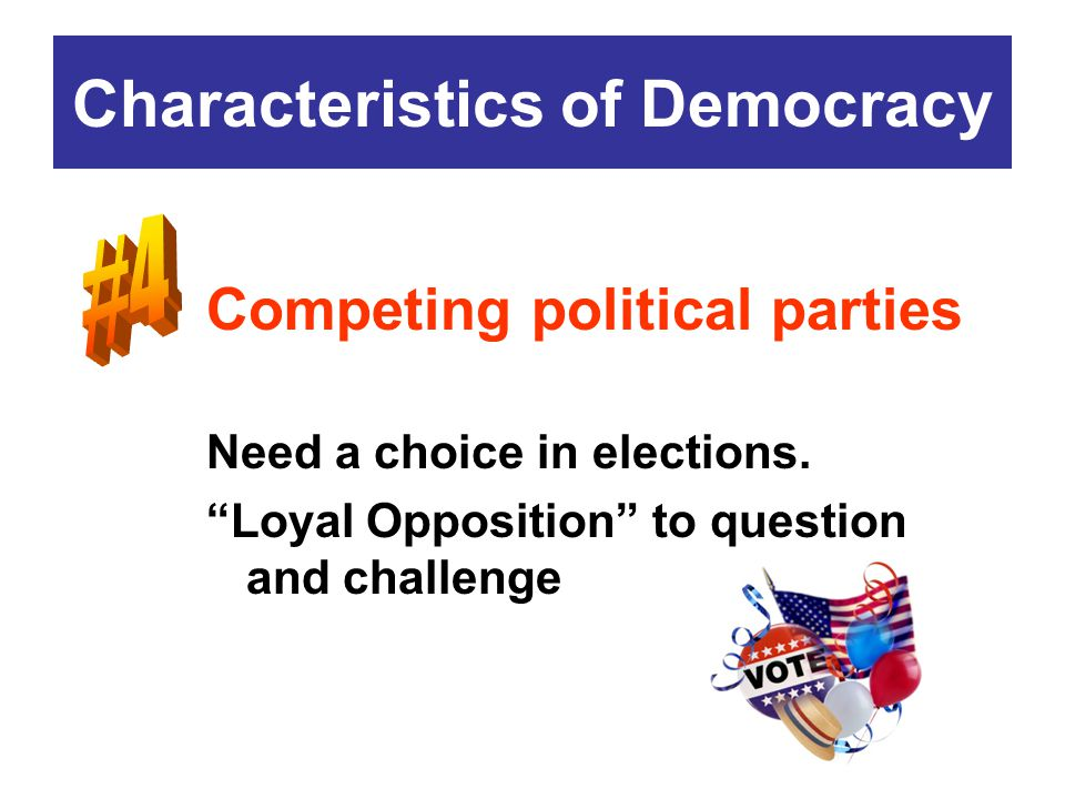 an analysis of the features of a democratic government How democratic is the constitution  the need for a constitution - why did the usa rejected the more democratic government for a lesser one.