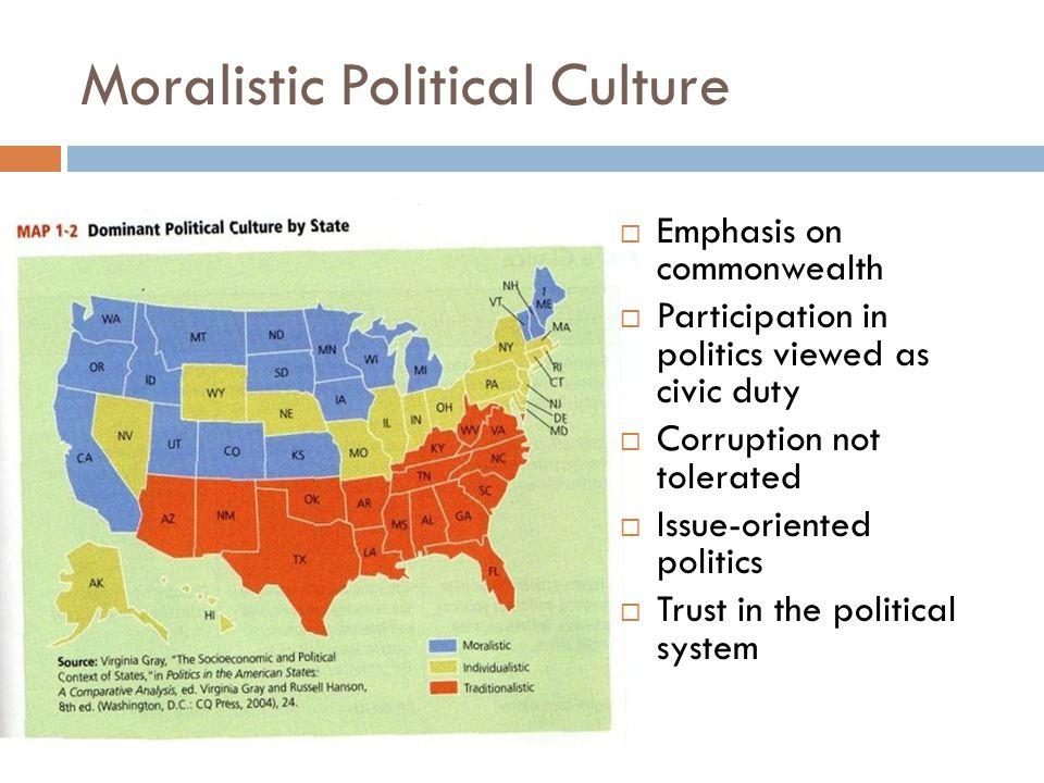 Moralistic Political Culture