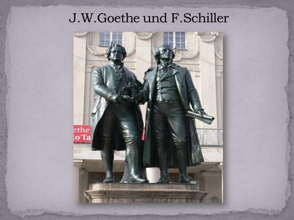 J.W.Goethe und F.Schiller