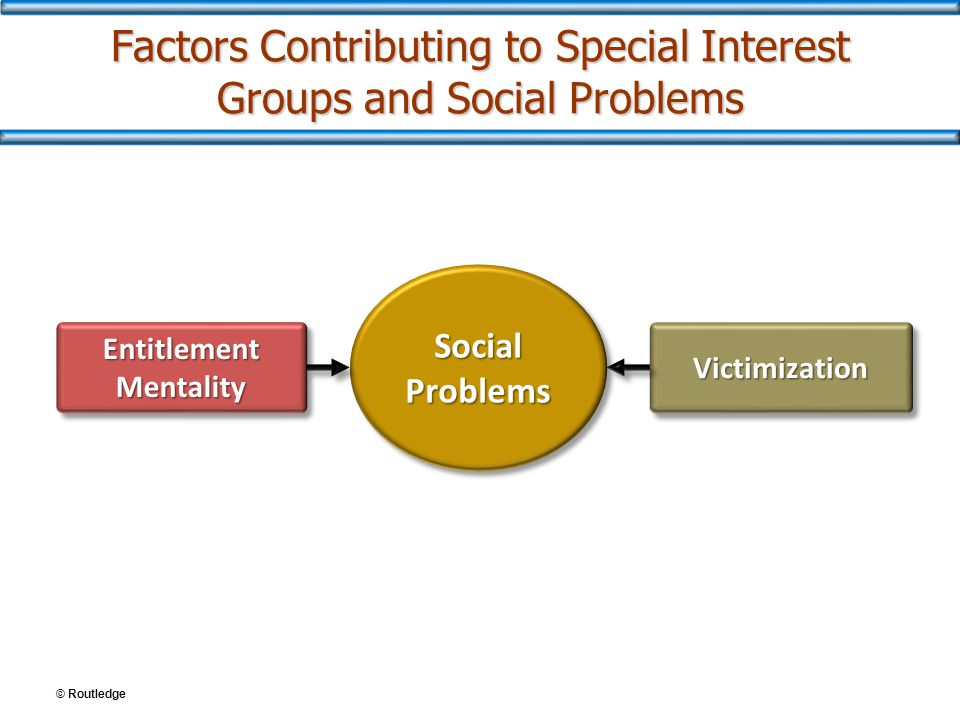 Factors Contributing to Special Interest Groups and Social Problems