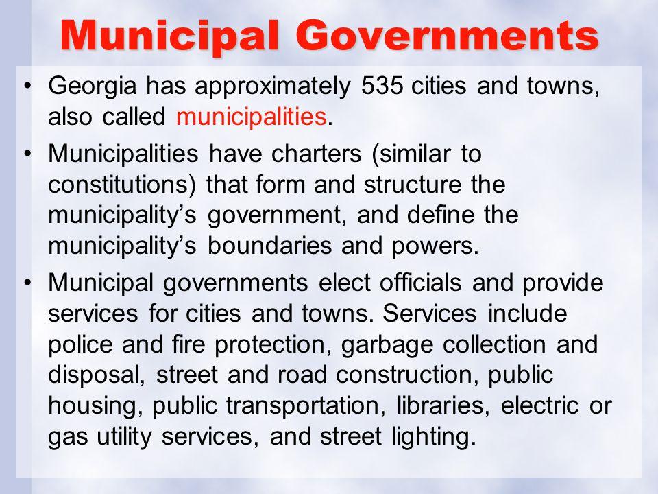 Municipal Governments