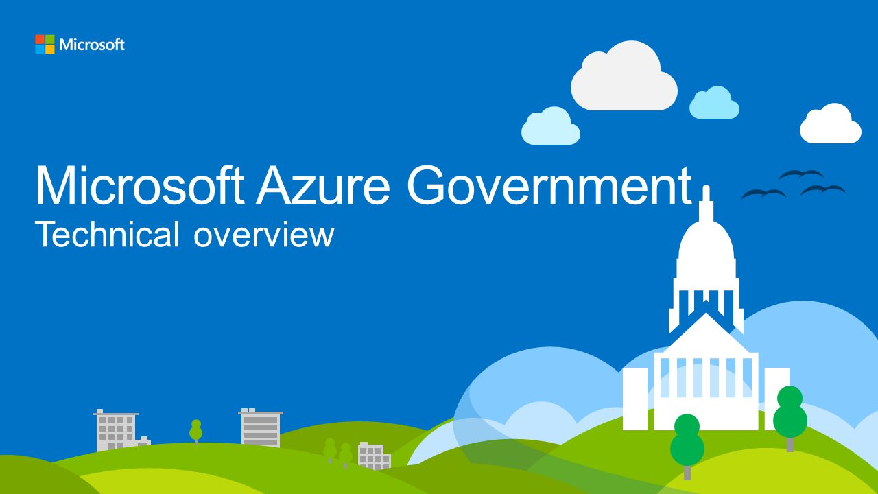Microsoft Azure Government Technical overview
