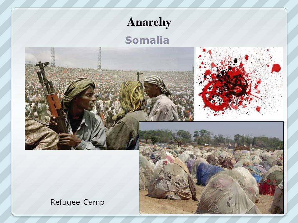 Anarchy Somalia Refugee Camp
