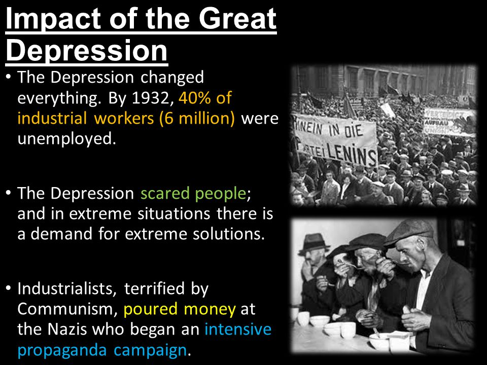 Impact of the Great Depression
