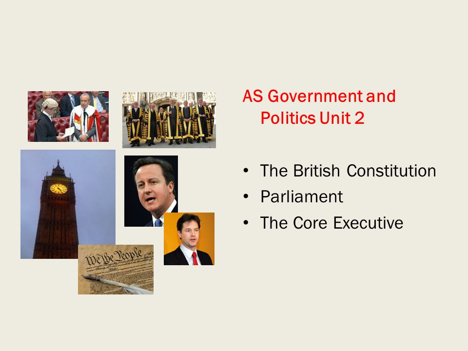 AS Government and Politics Unit 2
