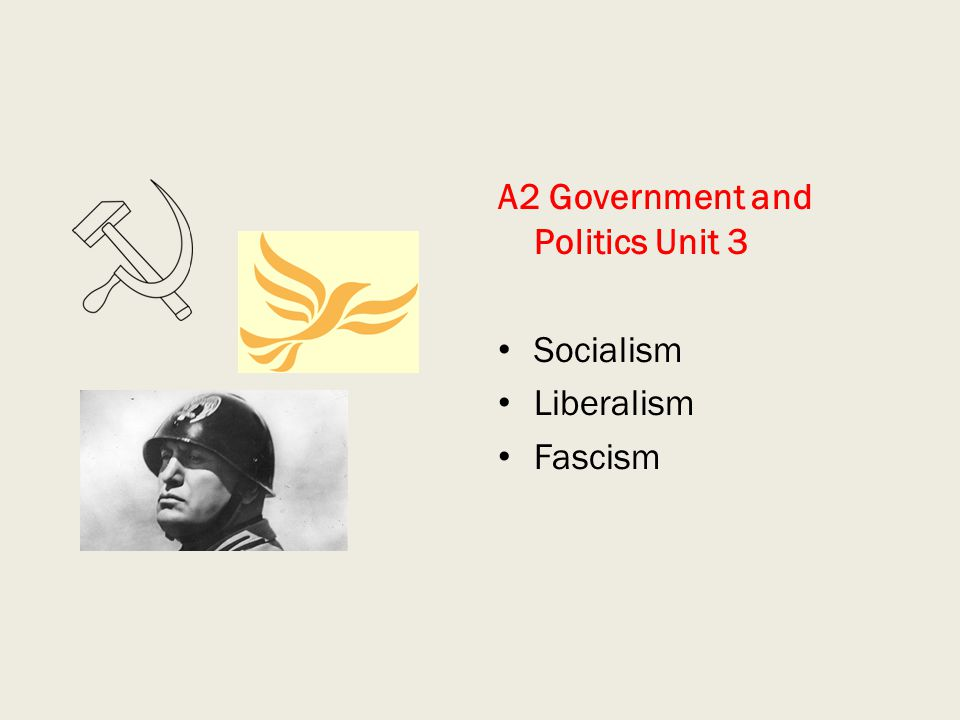 A2 Government and Politics Unit 3