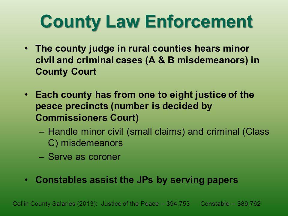 County Law Enforcement