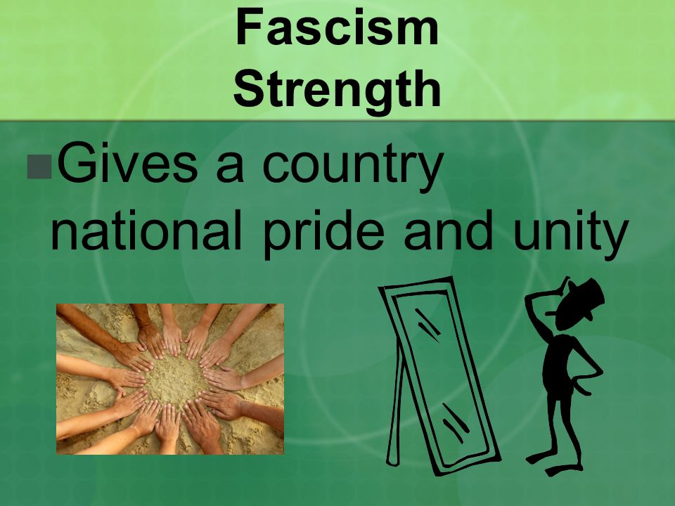Gives a country national pride and unity