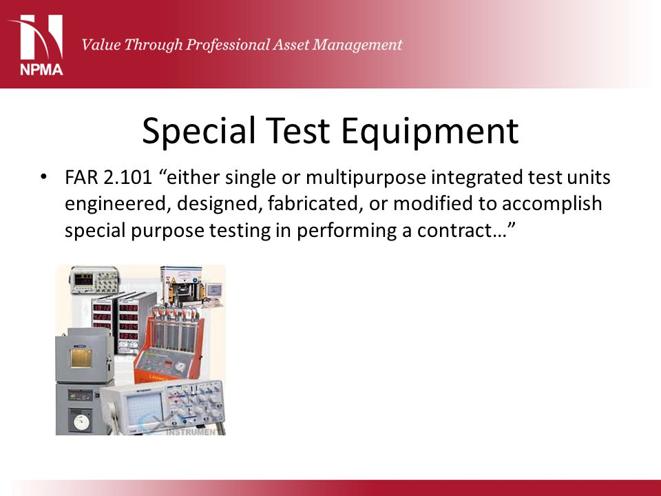 Special Test Equipment