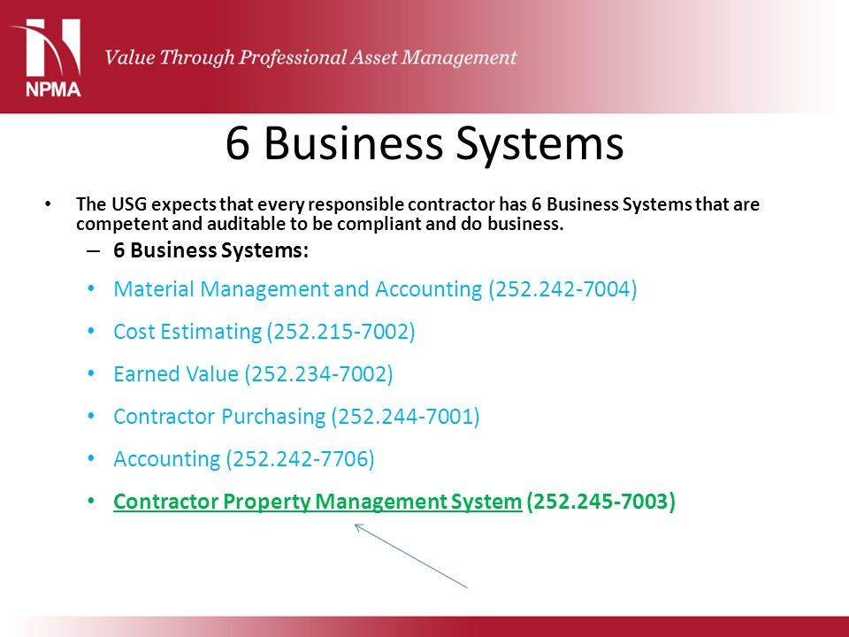 6 Business Systems 6 Business Systems: