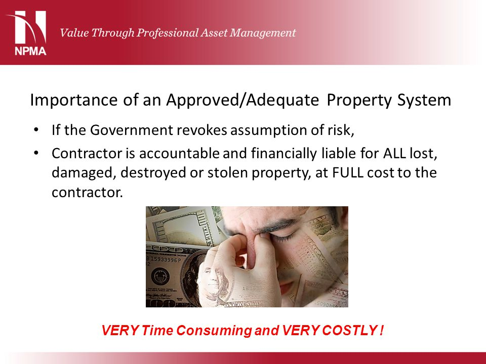 Importance of an Approved/Adequate Property System