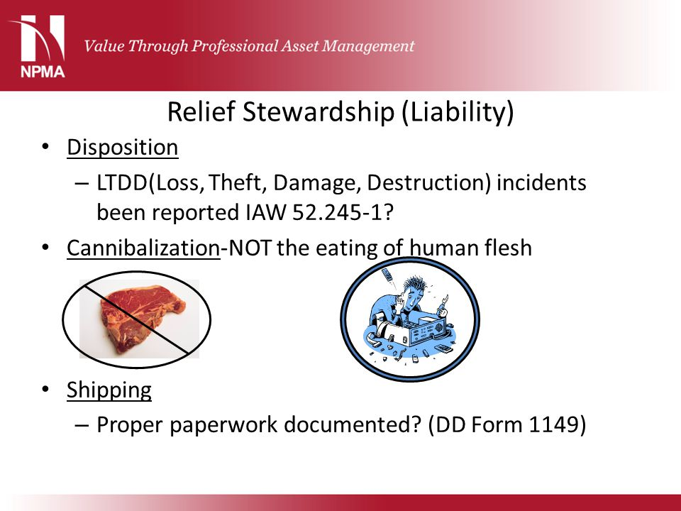 Relief Stewardship (Liability)