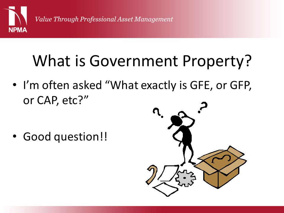What is Government Property