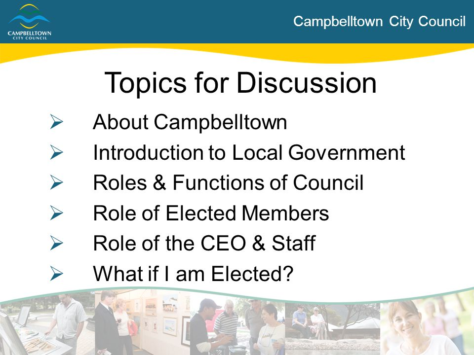 Topics for Discussion About Campbelltown
