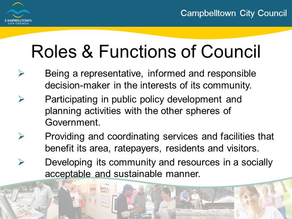Roles & Functions of Council