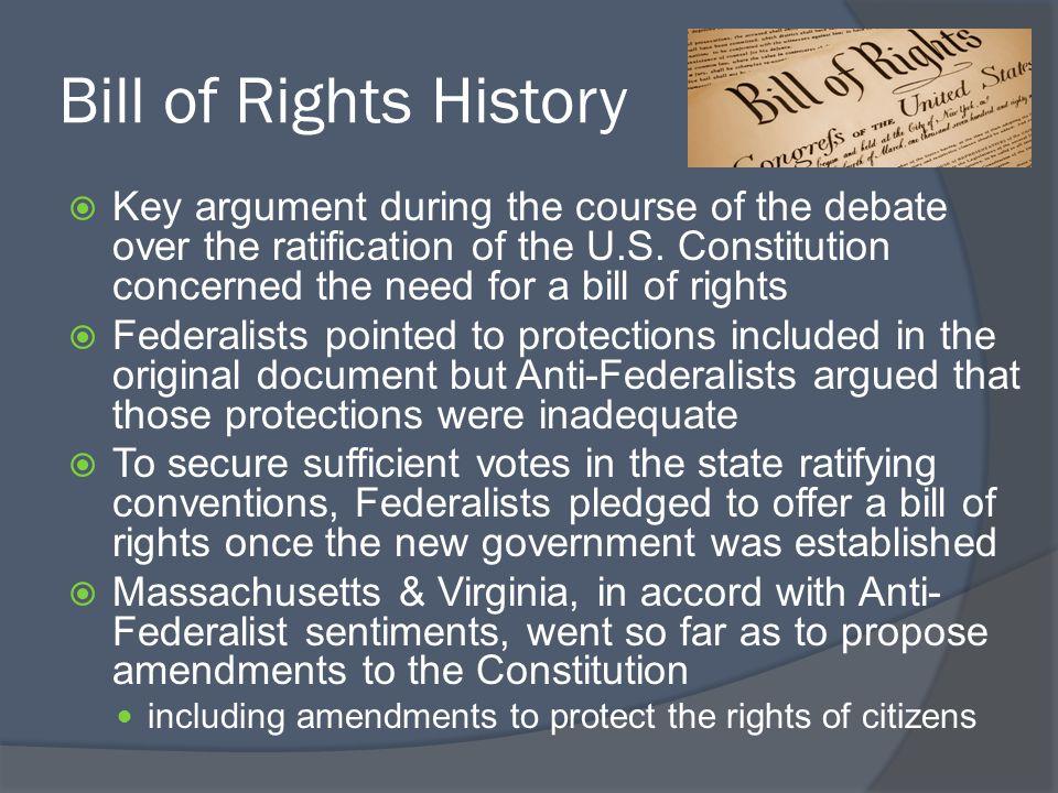 Bill of Rights History