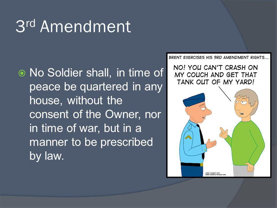 3rd Amendment