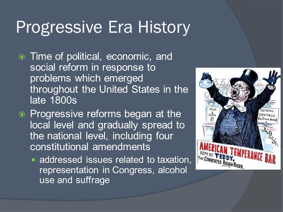 a history of economic and politics in the american progressive era The progressive era ushered the modern american politico-economic system  murray n rothbard made major contributions to economics, history, political .
