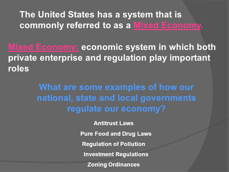 Regulation of Pollution Investment Regulations