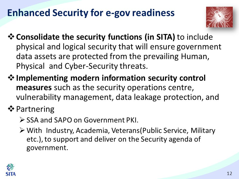 Enhanced Security for e-gov readiness