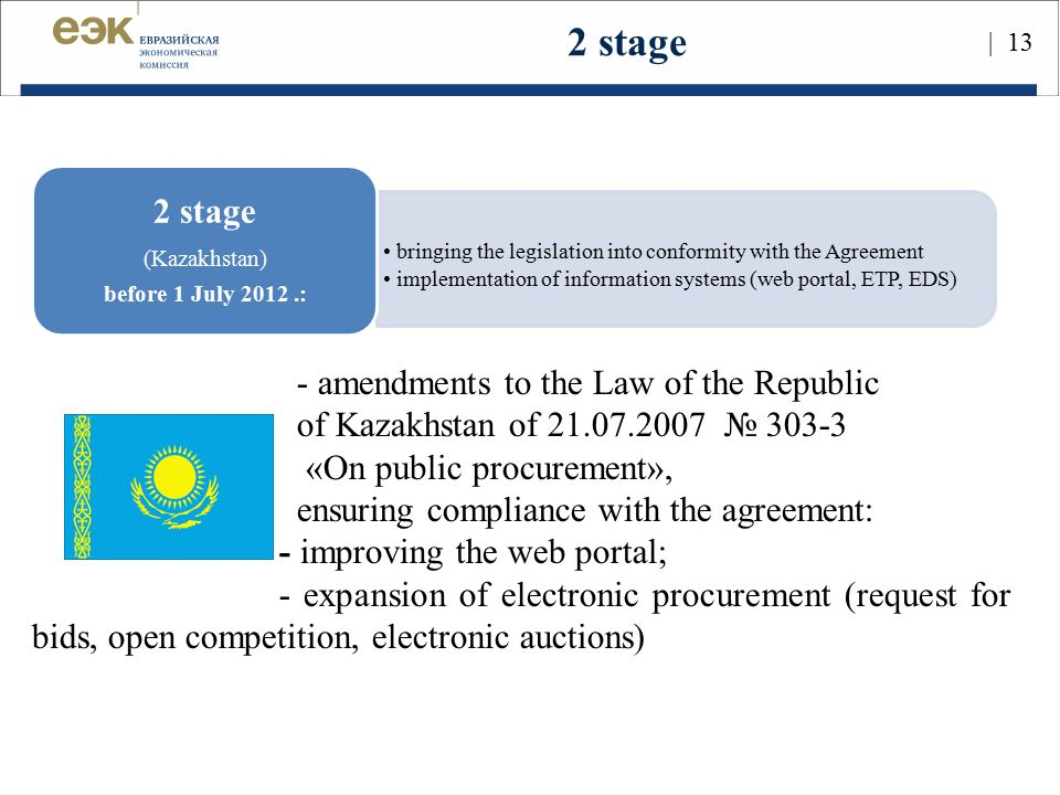 2 stage 2 stage - amendments to the Law of the Republic