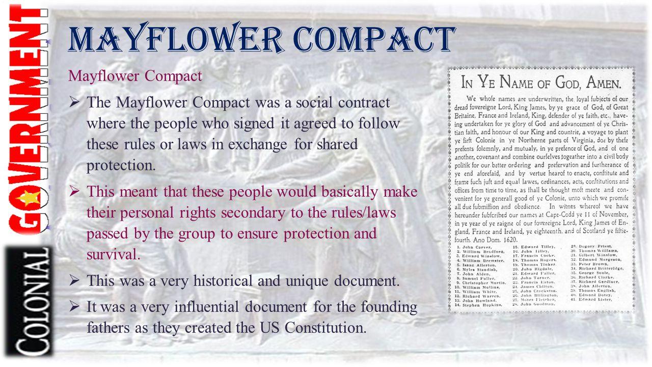 Mayflower Compact Mayflower Compact