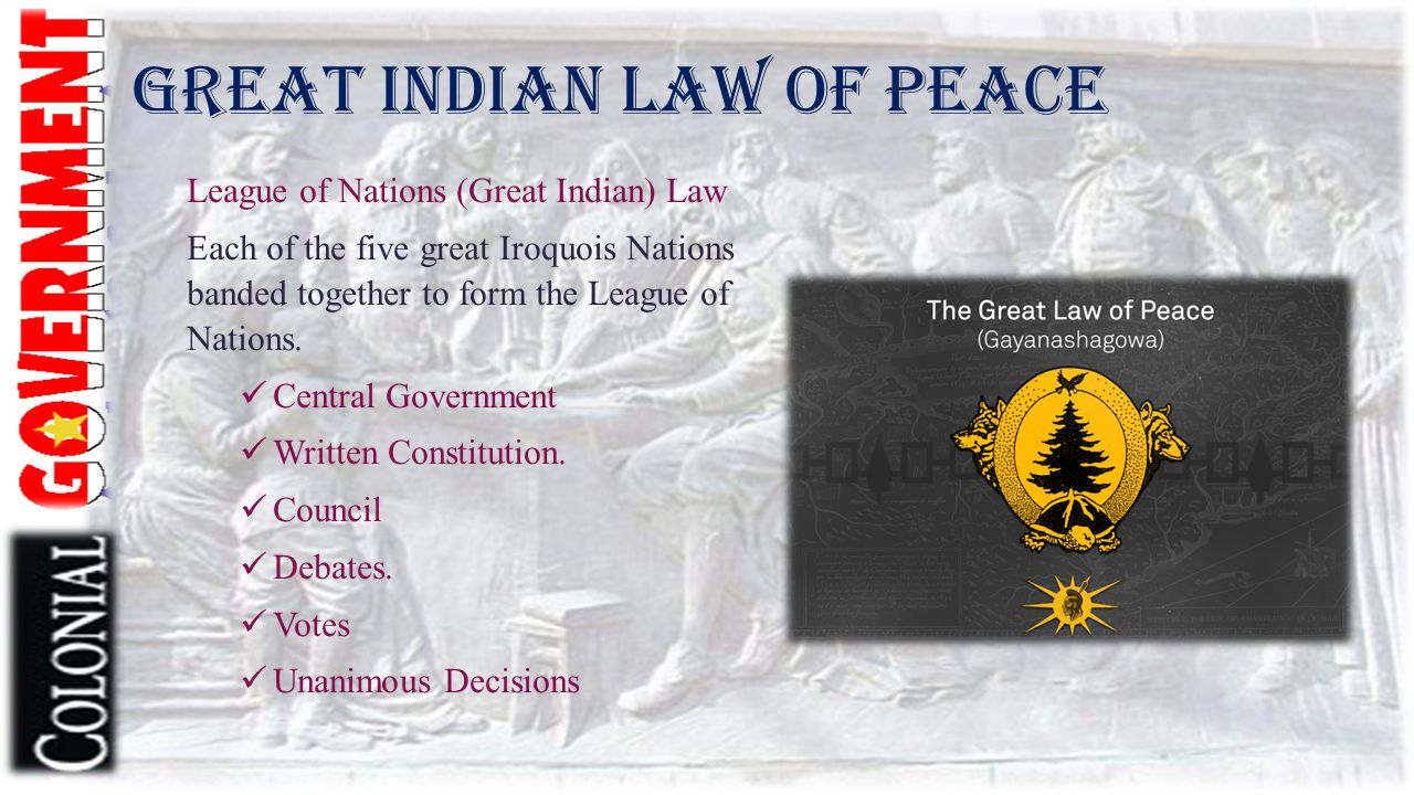 Great Indian Law of Peace
