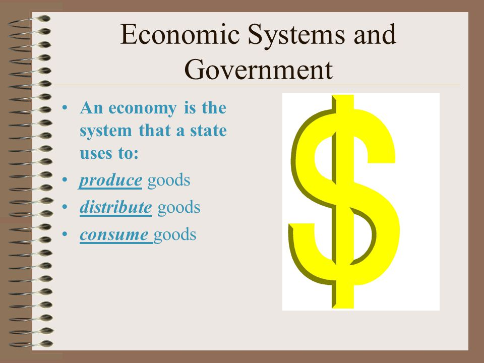 Economic Systems and Government