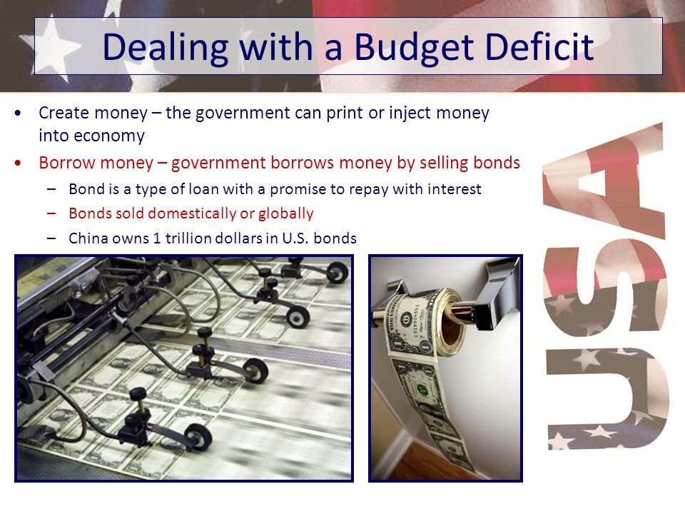 Dealing with a Budget Deficit