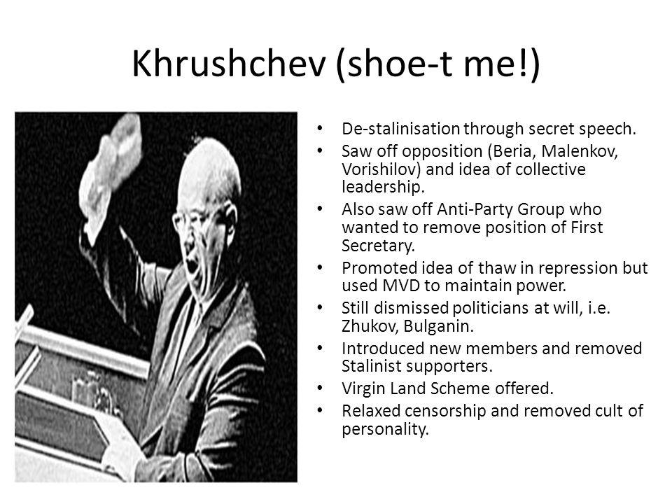 Khrushchev (shoe-t me!)