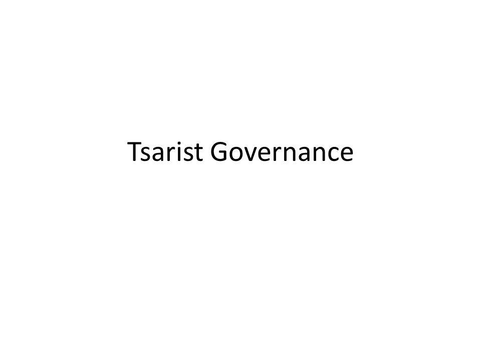 Tsarist Governance