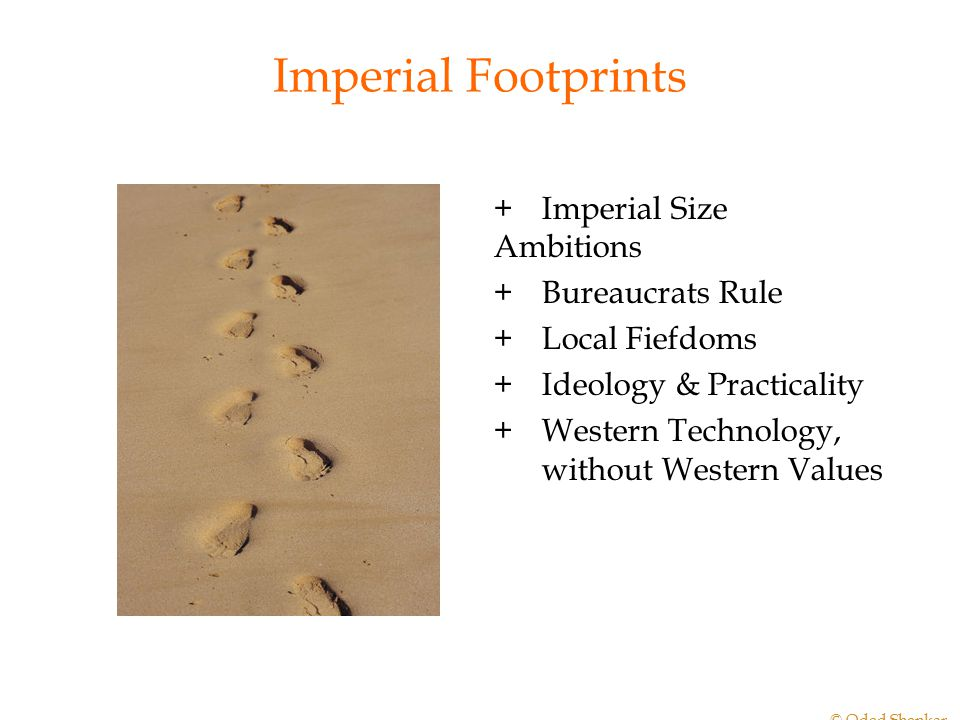 Imperial Footprints + Imperial Size Ambitions + Bureaucrats Rule