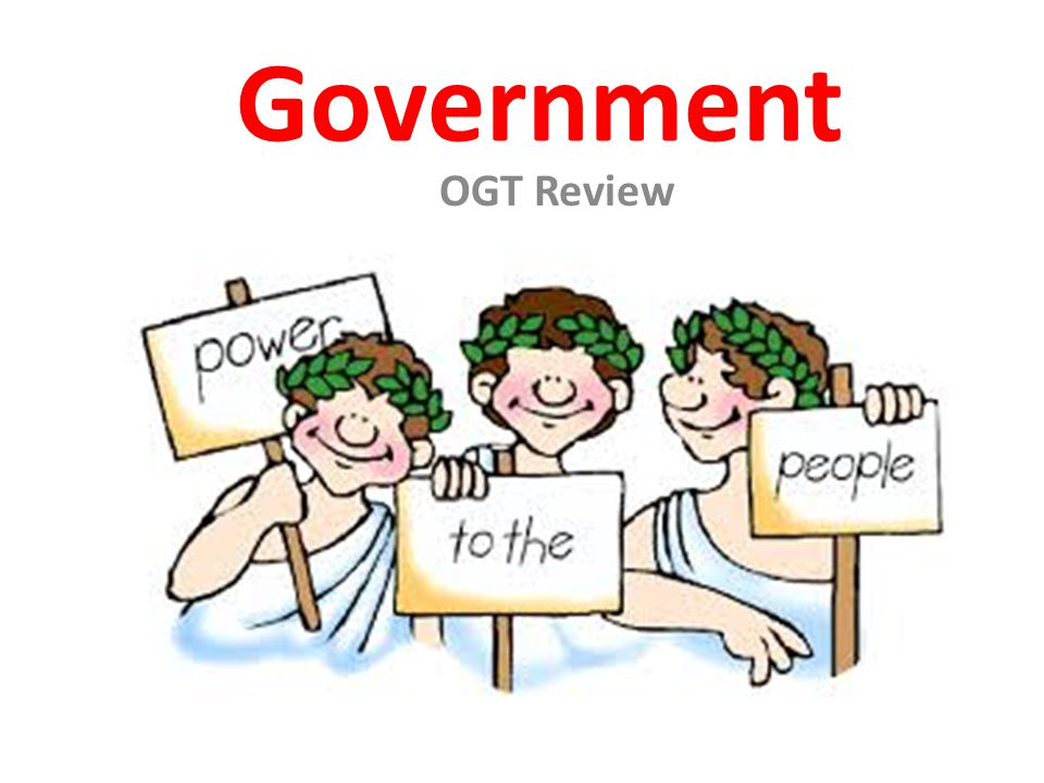 Government OGT Review