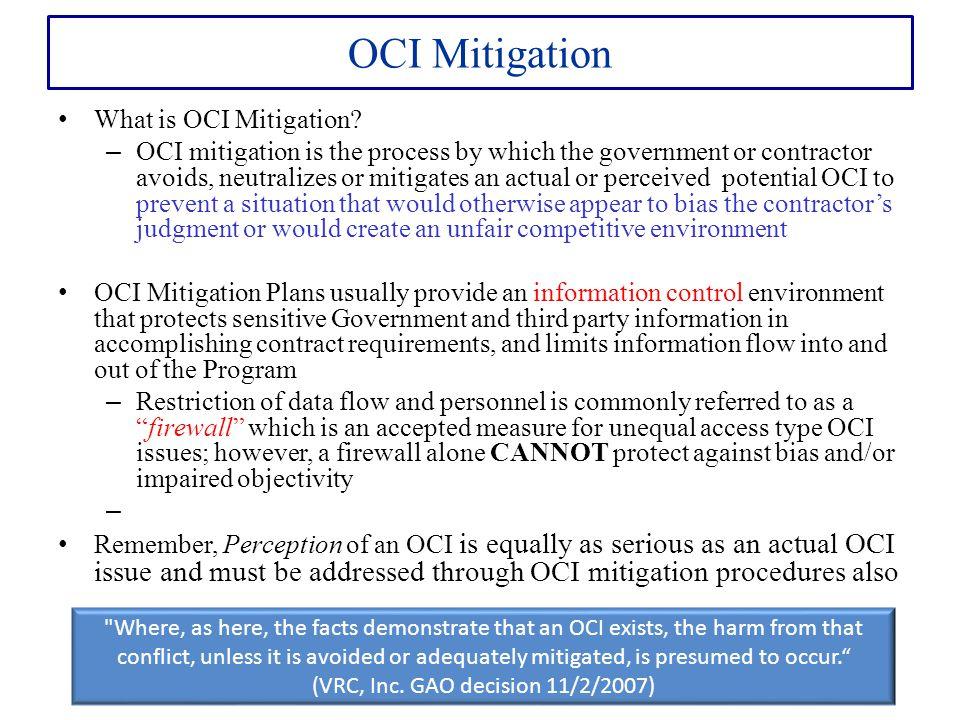 (VRC, Inc. GAO decision 11/2/2007)