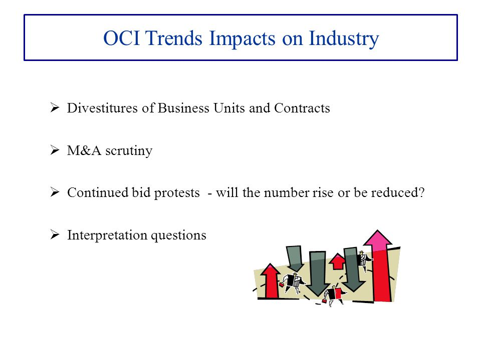 OCI Trends Impacts on Industry