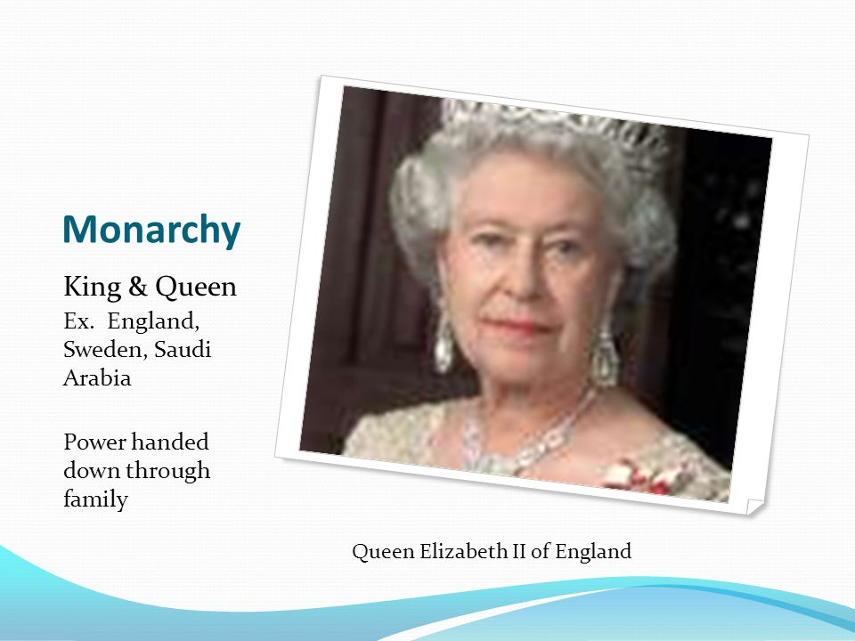 Queen Elizabeth II of England