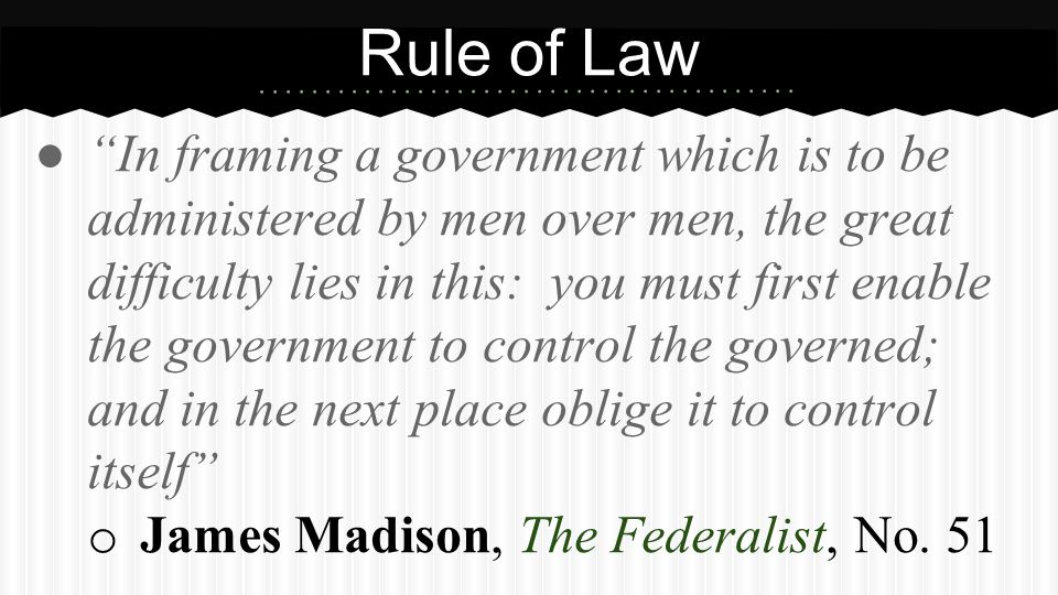 Partner Question What does James Madison's quote mean Explain