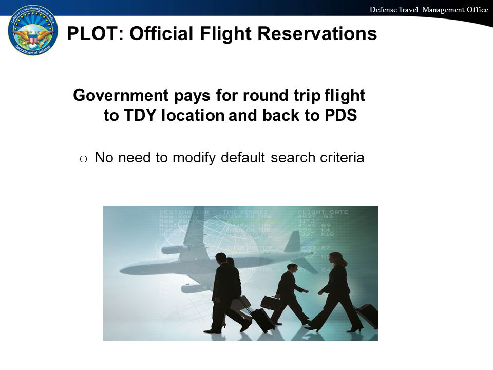 PLOT: Official Flight Reservations