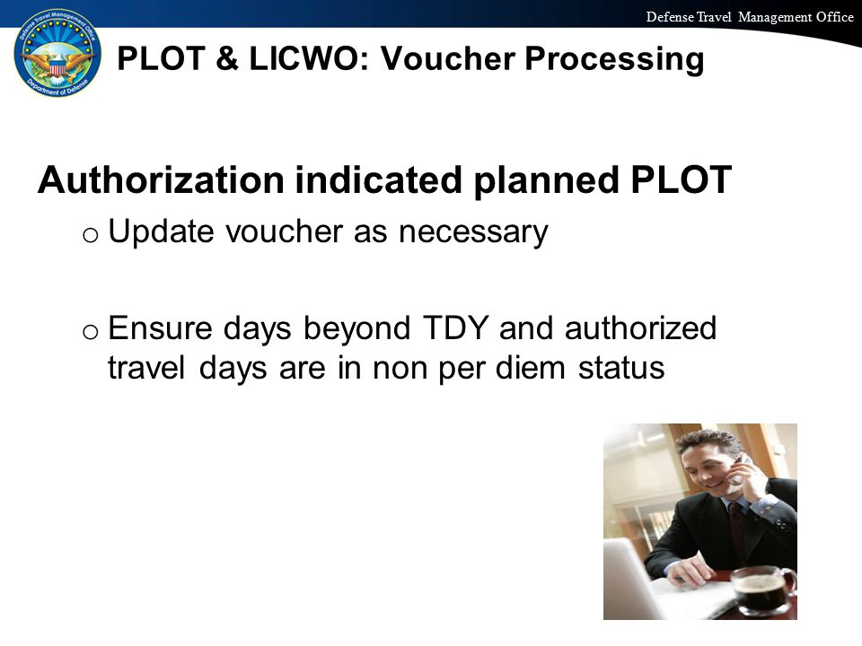 PLOT & LICWO: Voucher Processing