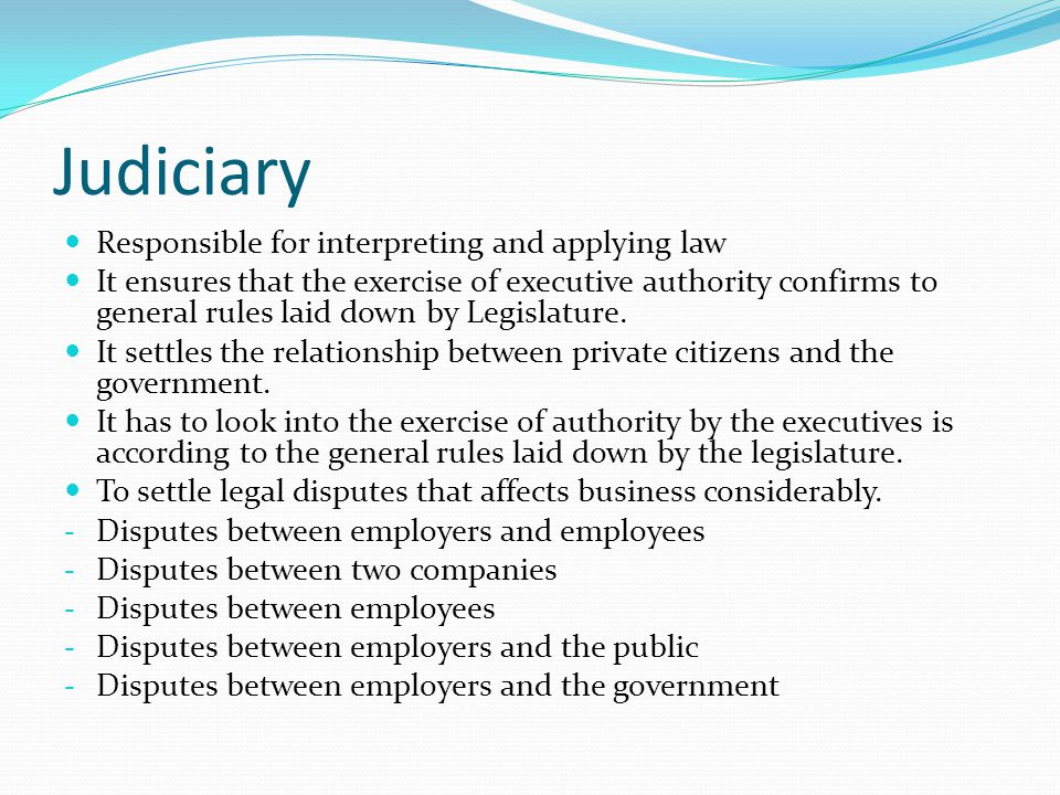 rule of law and limited government relationship with business