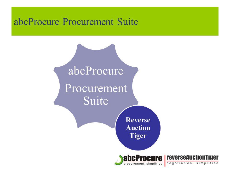 abcProcure Procurement Suite