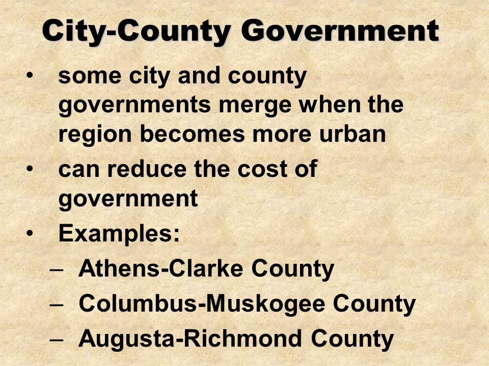 City-County Government