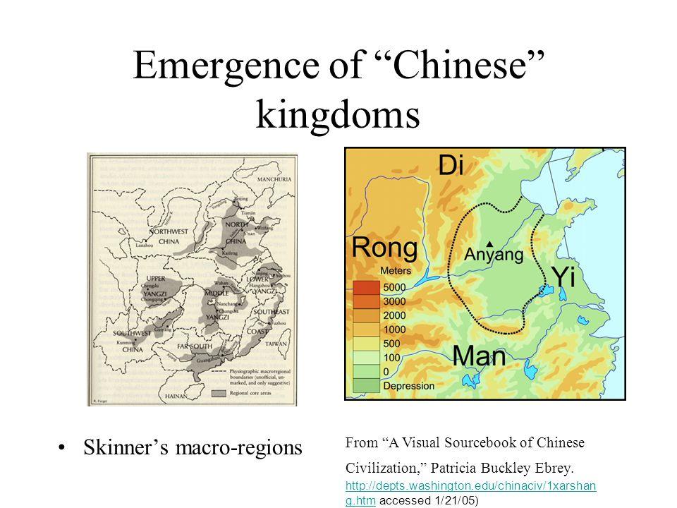 Emergence of Chinese kingdoms