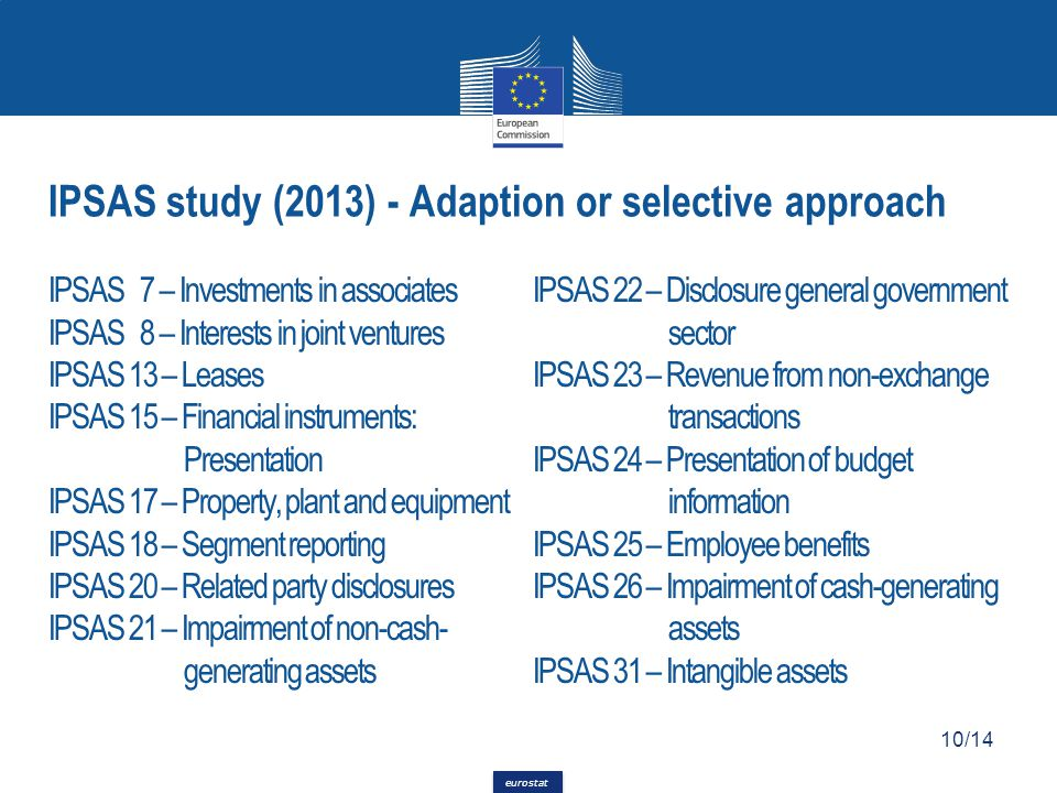 IPSAS study (2013) - Adaption or selective approach
