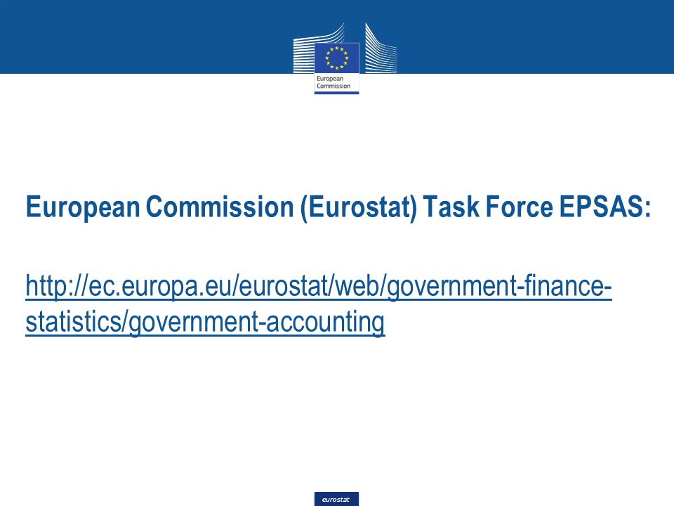 European Commission (Eurostat) Task Force EPSAS: http://ec. europa