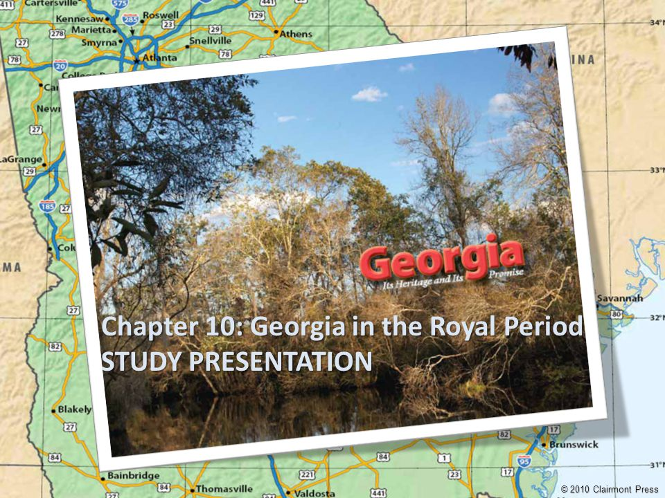 Chapter 10: Georgia in the Royal Period STUDY PRESENTATION