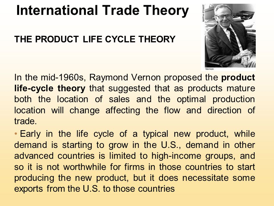 International Trade Theory