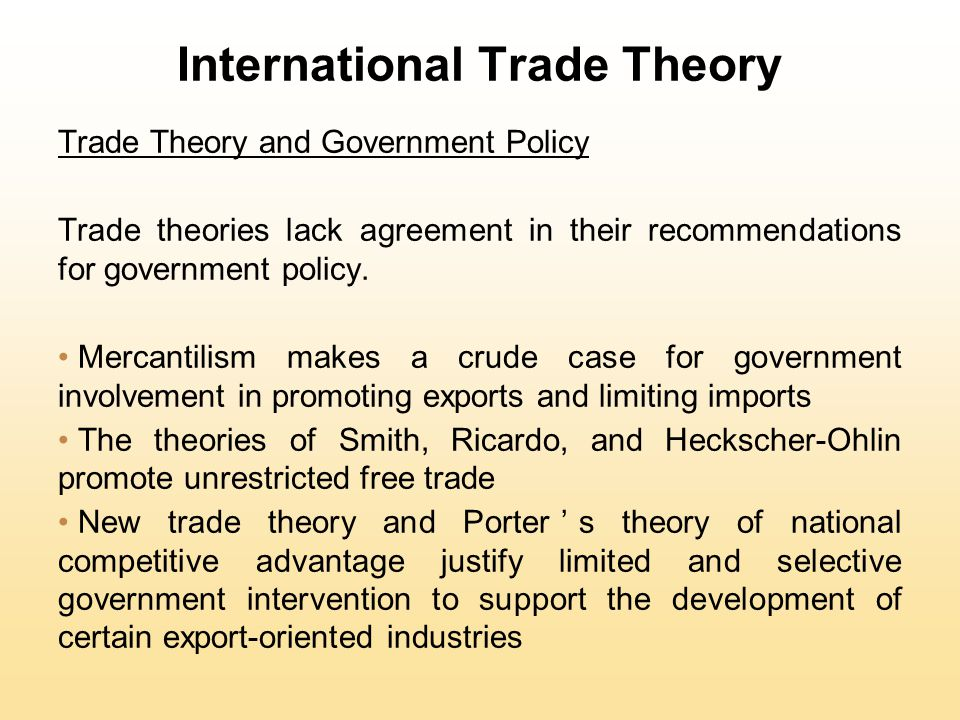 mercantilist international trade and basic free One of the most basic lessons of ambassador terry miller is the director of the center for international trade and free trade is having the same negative.